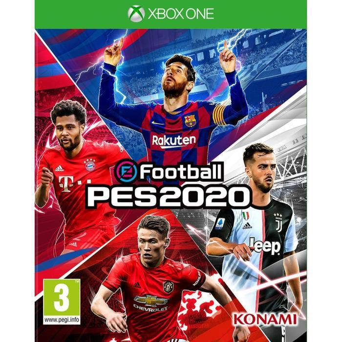 eFootball PES 2020 Jeu Xbox One