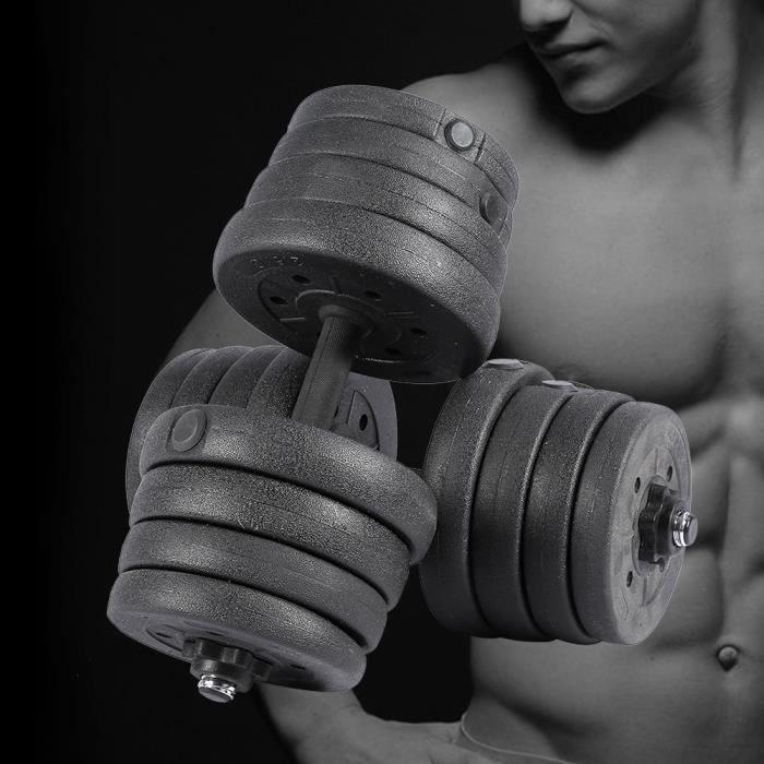 Ensemble d'haltères 30 kg musculation réglable -SWT