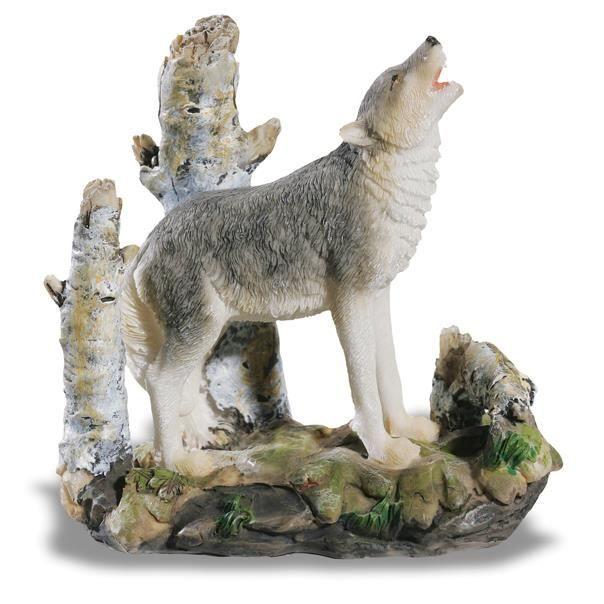 FIGURINE LOUP - Statuette - Collection Montagne