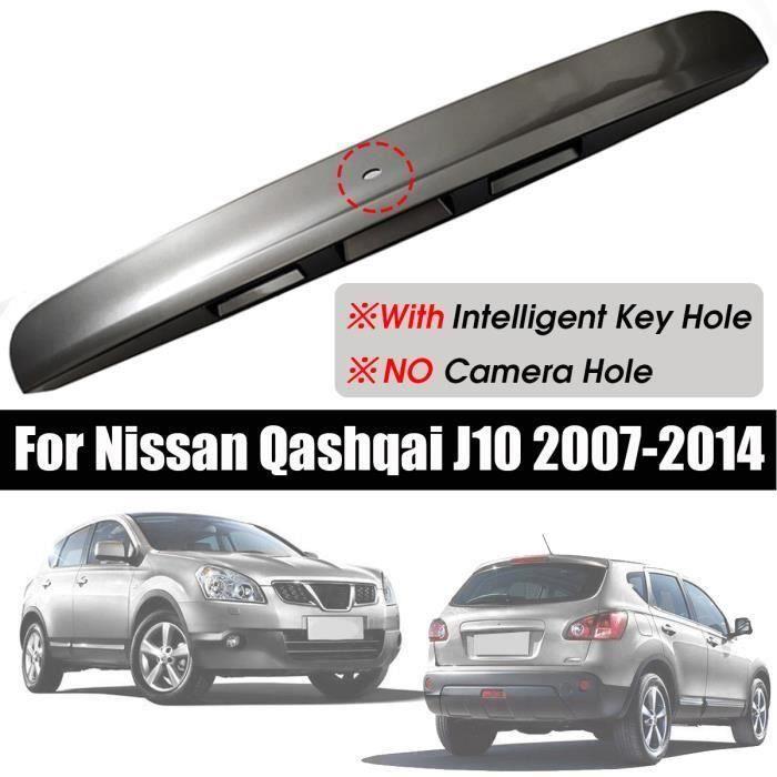 Poignée de couvercle de coffre de hayon Auto Avec trou de clé intelligent pour Nissan Qashqai J10 07-14 Gris Bo50116