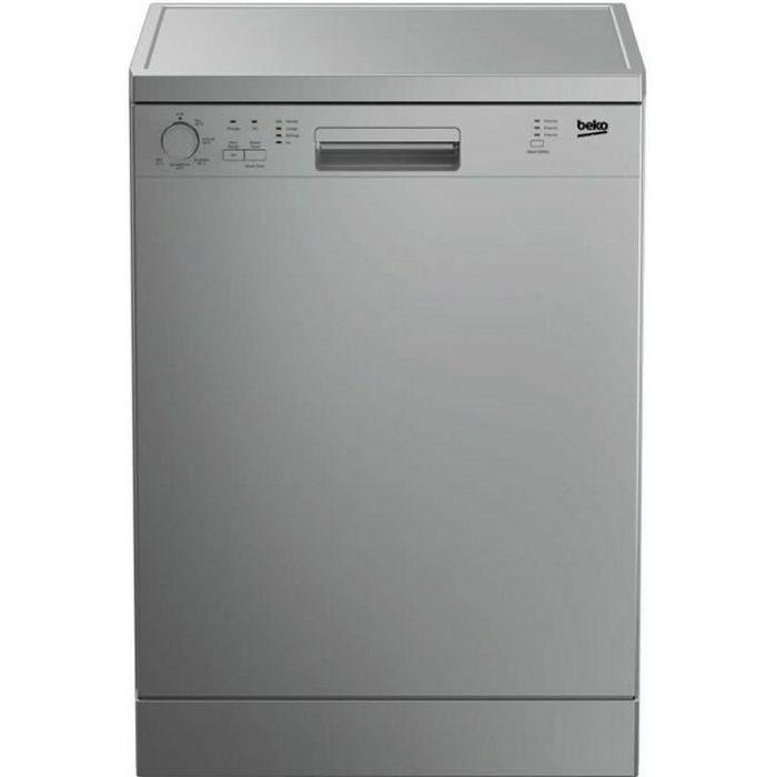 Lave vaisselle 60 cm Inox BEKO DFN136S
