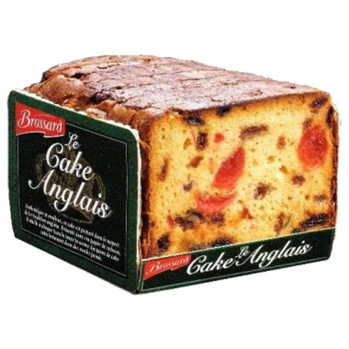 JACQUET BROSSARD DISTRIBUTION Cake aux fruits - 400 g