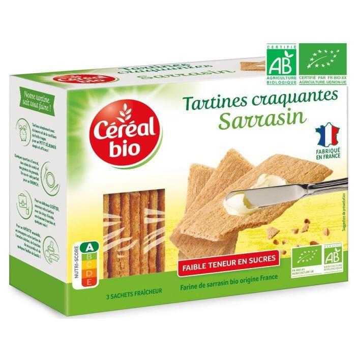 CEREAL BIO Tartine craquante au sarrasin Bio - 145 g
