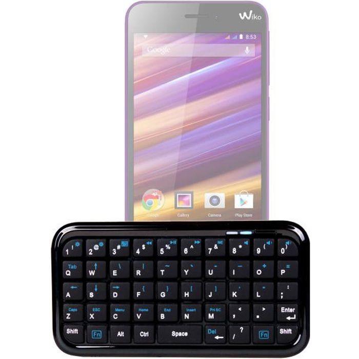 Clavier Mini Bluetooth pour smartphone Wiko Jimmy