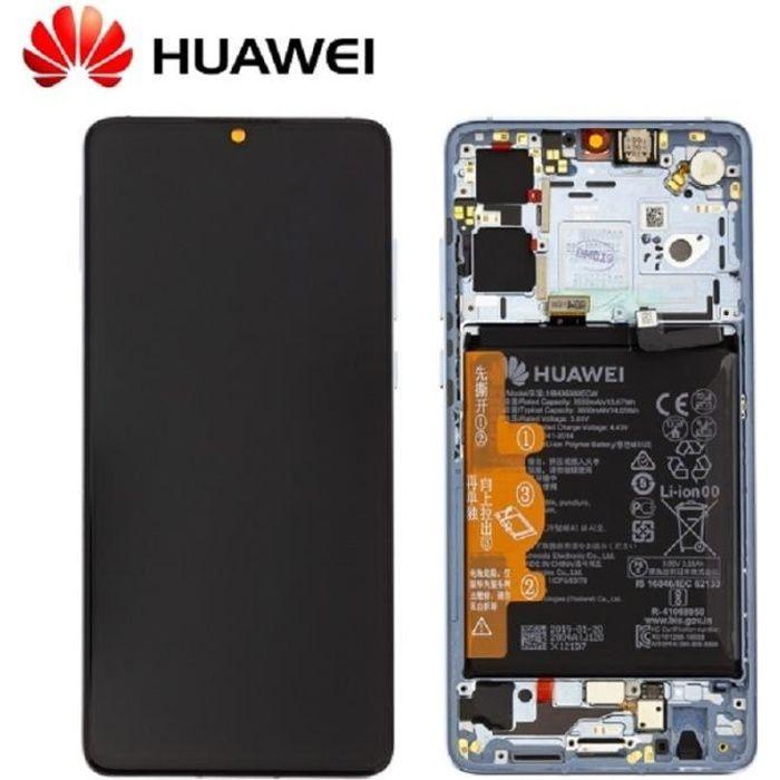 Ecran Complet Nacré Huawei P30 (Service Pack)
