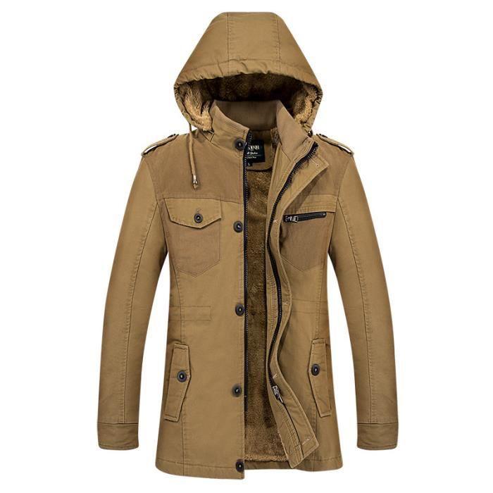 Manteau longue Homme à XL