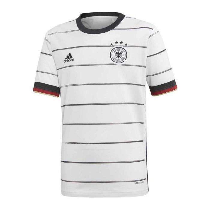 Maillot Adidas Allemagne Domicile blanc enfant