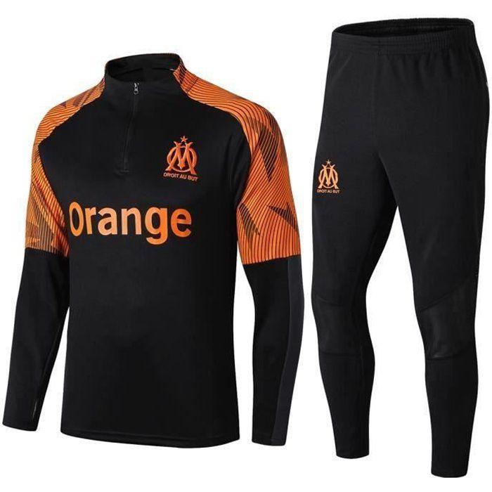 Survêtements Foot Homme OM Marseille - Maillot Foot Homme Survêtements Foot Orange - S