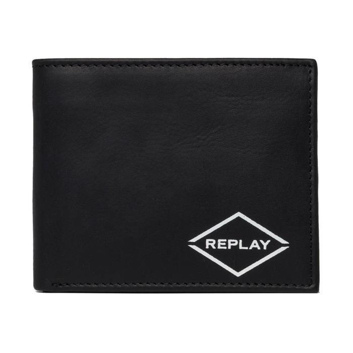 REPLAY Bifold Wallet Black [113728]