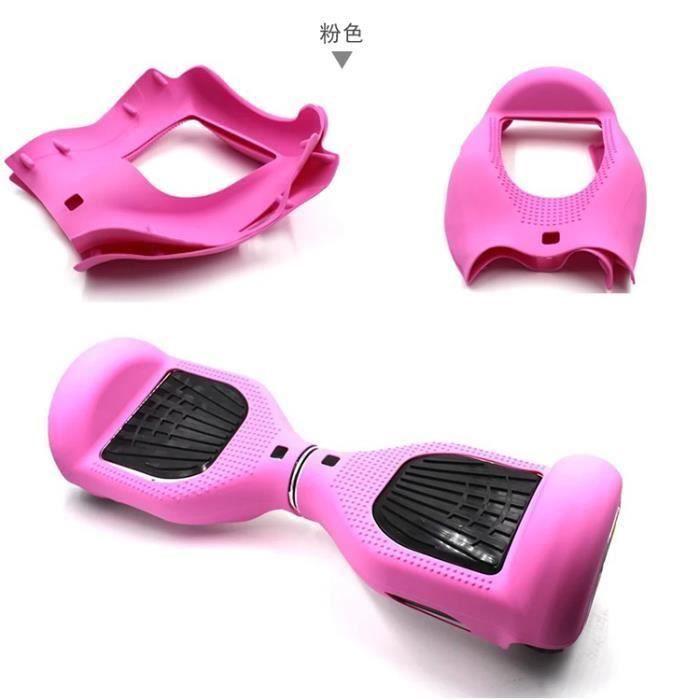 Rose Coque de Protection en Silicone Souple Peau Pour Housse en 6,5 pouces Smart d'équilibre Trottinette électrique Hoverboard Scoo