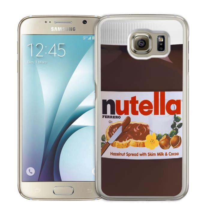 Coque Samsung Galaxy S7 Edge : Nutella