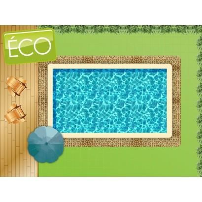 Piscine en kit bloc polystyr ne 10 x 5 m co achat for Bloc polystyrene piscine