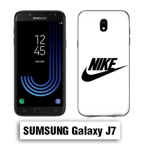 Coque Samsung J7 2017 Nike Blanc - Cdiscount Téléphonie