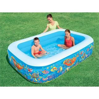 Piscine gonflable bestway deluxe ibeam fish rec achat vente pataugeoir - Piscine gonflable cdiscount ...