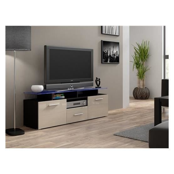 Meuble tv c discount maison design for Mini meuble tv