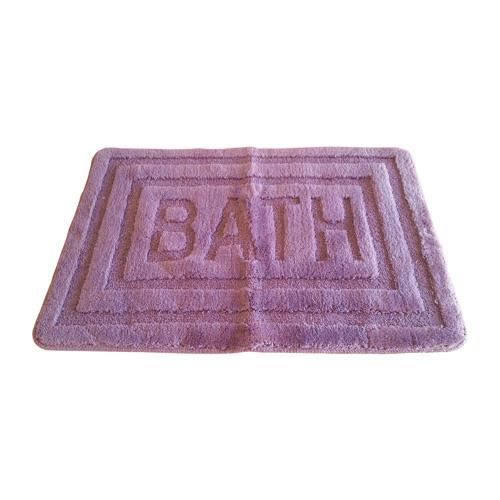 tapis de bain 60 x 90 cm violet achat vente tapis de bain 36628740708. Black Bedroom Furniture Sets. Home Design Ideas