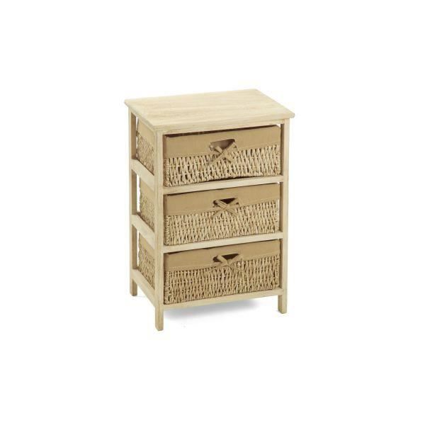 meuble d 39 appoint en bois massif lina achat vente petit. Black Bedroom Furniture Sets. Home Design Ideas