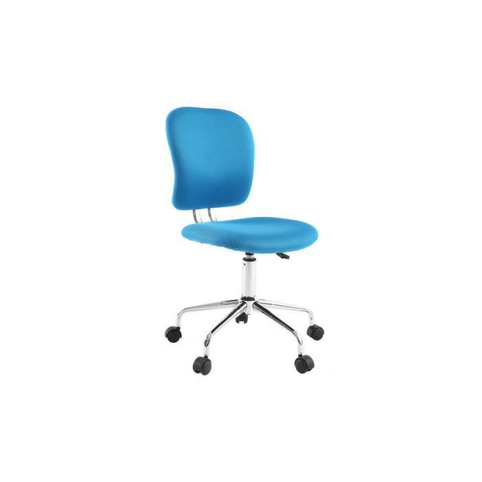 fauteuil de bureau enfant bleu mael achat vente chaise de bureau bleu cdiscount. Black Bedroom Furniture Sets. Home Design Ideas