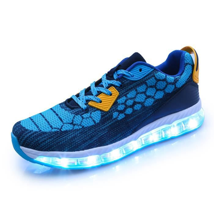 Baskets mixte Baskets LEDs Baskets automne Baskets mode Baskets party fête Chaussures de ville Chaussures populaires Chaussures