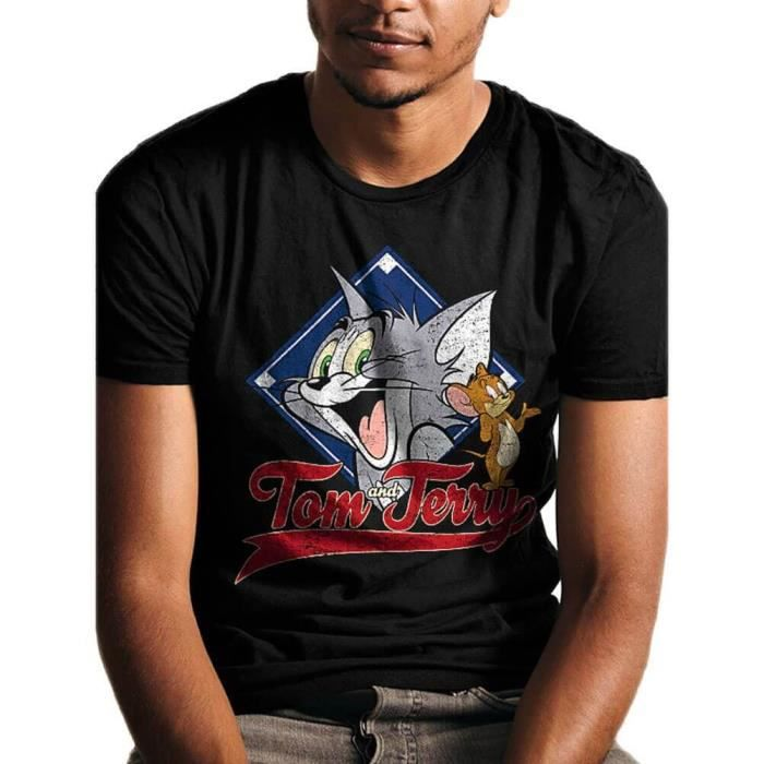 Animal établi T-shirt homme-Noir Toutes Tailles