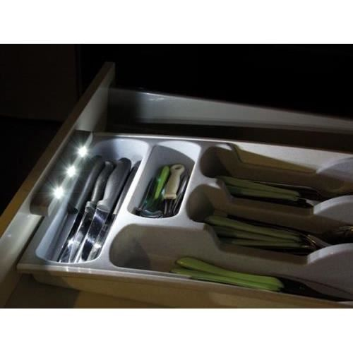 lampe eclairage auto blanc a 3 led tiroir cuisine achat vente lampe eclairage auto blanc. Black Bedroom Furniture Sets. Home Design Ideas