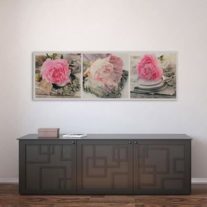 tableau pivoine achat vente pas cher. Black Bedroom Furniture Sets. Home Design Ideas
