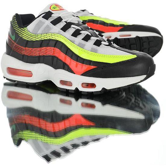 Baskets Nike Air Max TN 95 Premium SE Chaussures Homme Noir ...