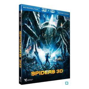 BLU-RAY FILM Blu-Ray Spiders 3d - combo blu ray + dvd