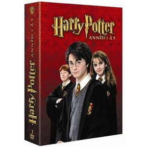 DVD DESSIN ANIMÉ Harry Potter, vol. 1 à 3 - Coffret 3DVD