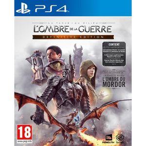 JEU PS4 L'Ombre de la Guerre Definitive Edition Jeu PS4