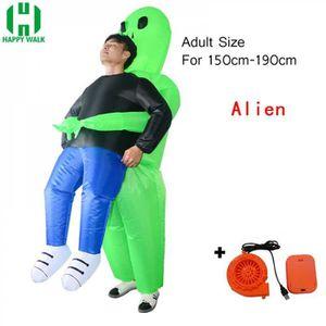 DÉGUISEMENT Costume, No15092,Alien,Pourim fantaisie gonflable