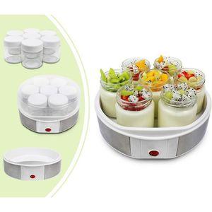 PLATEAU À FROMAGE  Yaourtière, Machine pour Yaourt Fait Maison, 7 pot