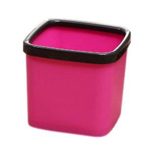 POUBELLE - CORBEILLE créatif mode mini-bureau trash-poubelle, carré ros