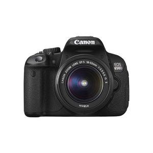 APPAREIL PHOTO RÉFLEX CANON EOS 650D 18-55mm IS II Reflex numérique