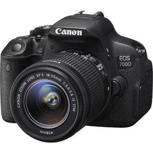 APPAREIL PHOTO RÉFLEX CANON EOS 700D Reflex + 18-55 IS STM