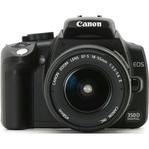 APPAREIL PHOTO RÉFLEX Canon EOS 350D + 18-55 mm