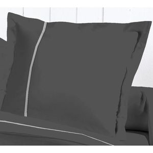 david olivier taie d 39 oreiller 50x70 percale g anth achat vente taie d 39 oreiller cdiscount. Black Bedroom Furniture Sets. Home Design Ideas