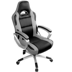 SIÈGE GAMING IWMH Chaise Gamer - Racing Chaise de Bureau PU - G