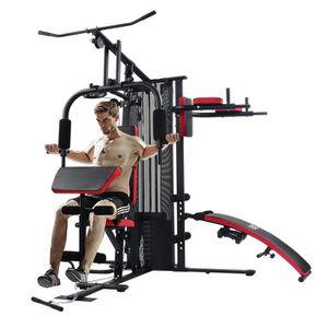 BANC DE MUSCULATION ISE Station de Musculation - Multifonction - Avec