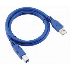 FIL POUR IMPRIMANTE 3D Kingwing® USB 3.0 mâle à B mâle Câble pour imprima