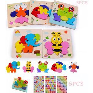 PUZZLE Jouet Bebe - Puzzles en Bois, Jouets Montessori En