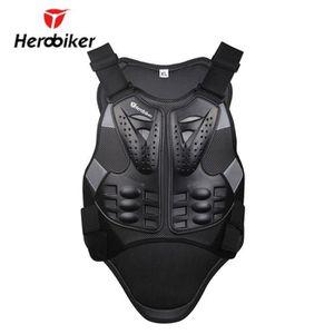 DORSALE MOTO Armure de moto Motocross Racing Armour Noir Moto R