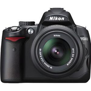APPAREIL PHOTO RÉFLEX Nikon D5000 + AF-S DX NIKKOR 18-55 mm VR