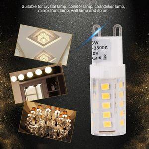 AMPOULE - LED 20Pcs Ampoule Led G9 5W Ac 230V - Couleur Blanc Ch