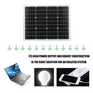 CÂBLE - FIL - GAINE OUTAD® Module solaire monocristallin 50 W 12 V idé