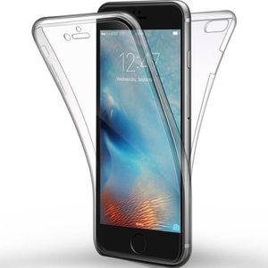 COQUE - BUMPER Pour Apple iPhone 6 - 6S 4,7 pouces Coque Transpar