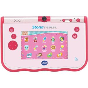 CONSOLE ÉDUCATIVE VTECH Storio Max 5'' Tablette enfant WiFi Rose