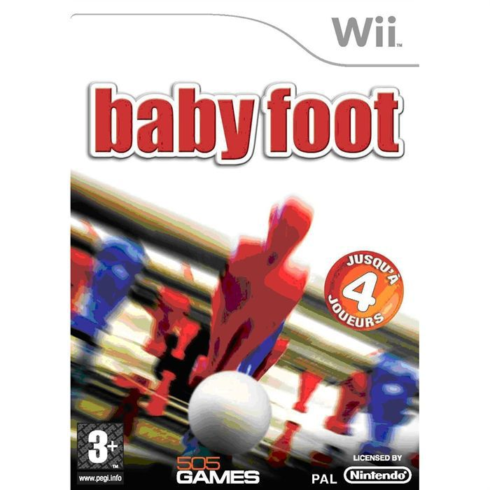 baby foot jeu console wii achat vente jeux wii baby foot wii cdiscount. Black Bedroom Furniture Sets. Home Design Ideas