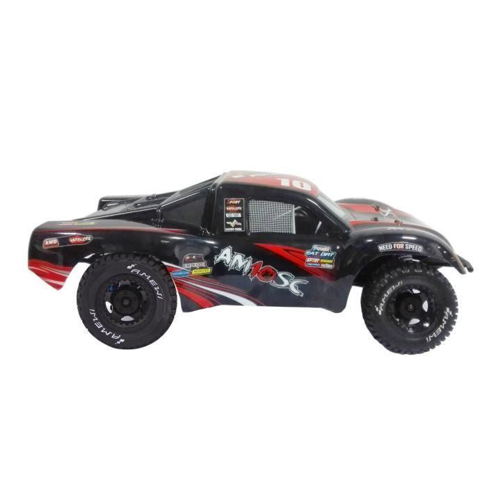 AM10SC Short Course V2 Rouge 1:10e / 4WD / Brushless