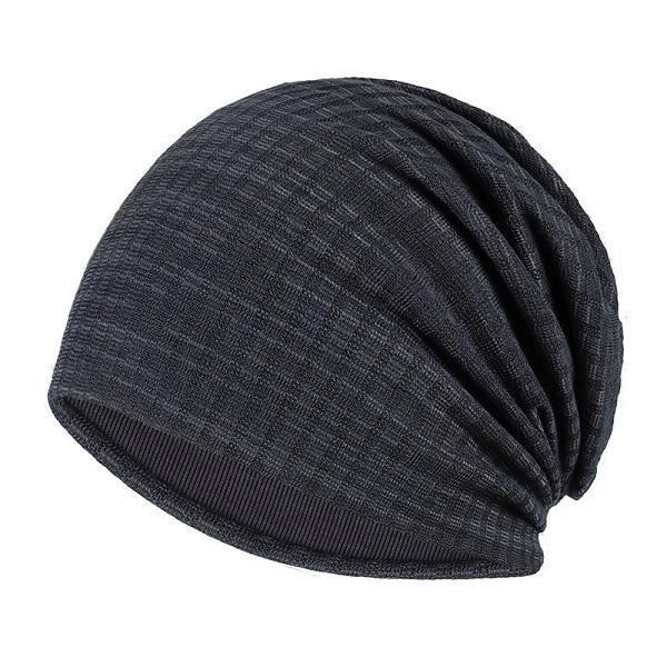 Chapeaux d'hiver femmes,Nouveau automne Turban casquette pour femmes hommes rayure bonnets pour hommes hiver coton ch Model:OKX697